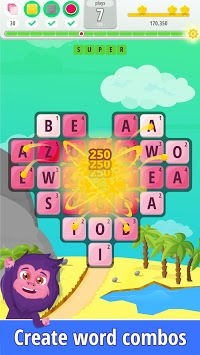 Letters Blast - Explosive Word Search Puzzle Fun APK screenshot 3