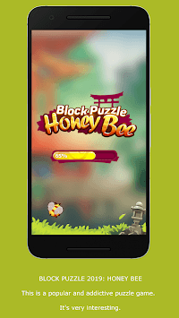 Block Puzzle: Honey Bee APK screenshot 1