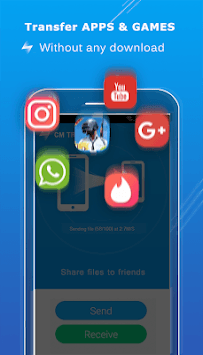 CM Transfer - Share any files with friends nearby APK screenshot 2
