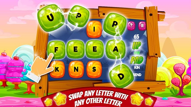 Candy Words -  Word Puzzle Match APK screenshot 2