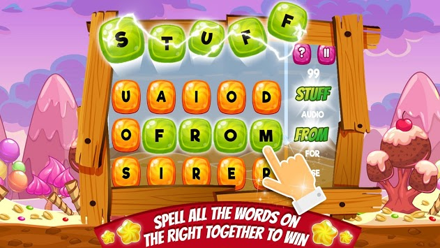 Candy Words -  Word Puzzle Match APK screenshot 3