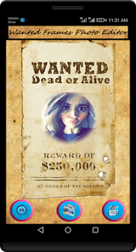 Most Wanted Poster - Wanted Frames Photo Editor APK : Download v1 0