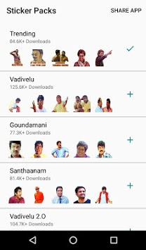 Tamil Stickers for WhatsApp (WAStickerApp) APK : Download v4