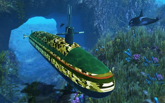 Submarine Driving Simulator: Indian Army Transport APK : Download v1