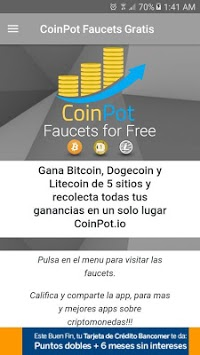 CoinPot Faucets For Free APK : Download v3 0 for Android at