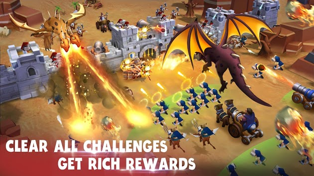 Epic War - Castle Alliance APK screenshot 2