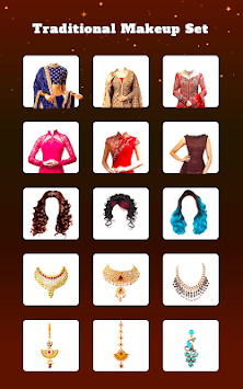 Traditional Girl Photo Suits - Traditional Dresses APK screenshot 2