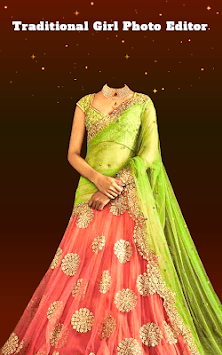 Traditional Girl Photo Suits - Traditional Dresses APK screenshot 3
