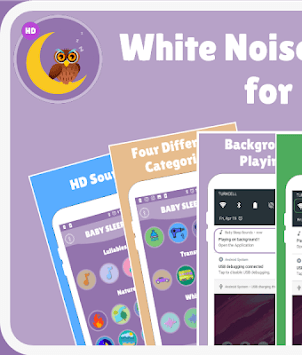 White Noise and Lullabies for Babies 🎵🎶 APK : Download v1
