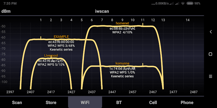 WiFi Analyzer iwscan APK : Download v2 2 2 for Android at AndroidCrew