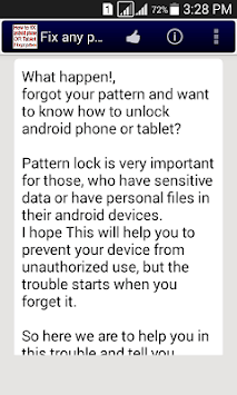 Fix any pattern lock easily  APK : Download v1 0 for Android