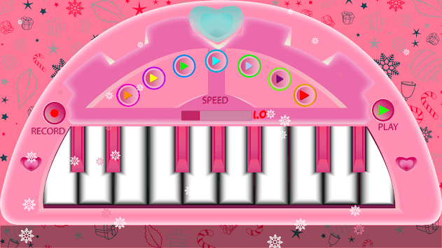 Pink Piano-Pink Keyboard APK screenshot 1