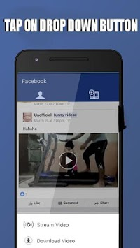 Downloader HD Video Fb APK screenshot 2
