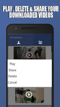 Downloader HD Video Fb APK screenshot 3