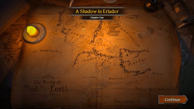 The Lord of the Rings: Journeys in Middle-earth APK screenshot 2