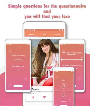 Daiting online - find love APK screenshot 1