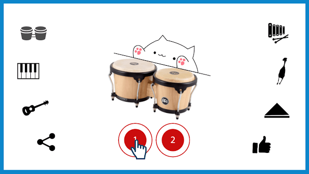 Bongo Cat Musical Instruments APK screenshot 2