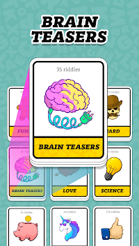 Tricky Riddles with Answers & Brain Teaser APK screenshot 2