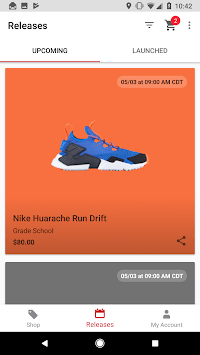 Kids Foot Locker APK screenshot 2