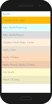Mom & Baby Center APK screenshot 3