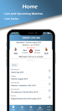 Cricket Live Line APK screenshot 1