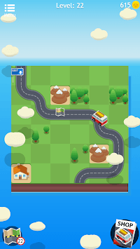 Road Trip FRVR - Connect the Way of the Car Puzzle APK screenshot 3