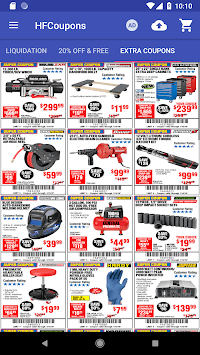 Coupons for Harbor Freight Tools APK screenshot 1