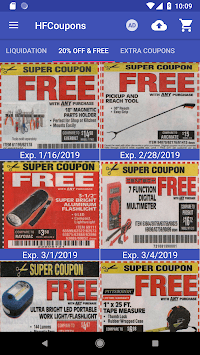 Coupons for Harbor Freight Tools APK screenshot 2