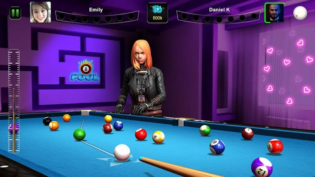 Billiards - Pool Ball City APK screenshot 1