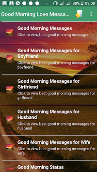 Good Morning Love Messages APK : Download v1 0 for Android