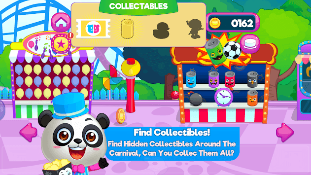 Panda Panda Funfair Party APK screenshot 2