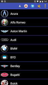 Vehicle Information APK screenshot 1