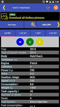 Vehicle Information APK screenshot 3