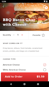 The Habit Burger Grill APK screenshot 1