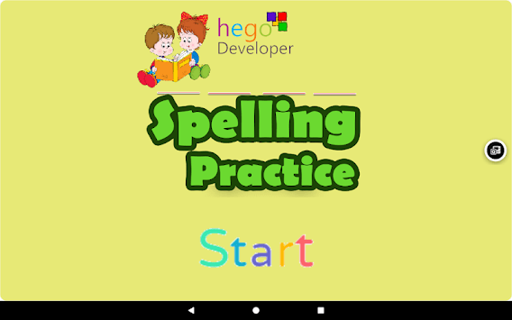 Kids Spelling Practice APK screenshot 1