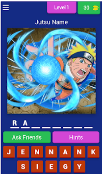 Guess The Jutsu - Naruto Quiz APK screenshot 1