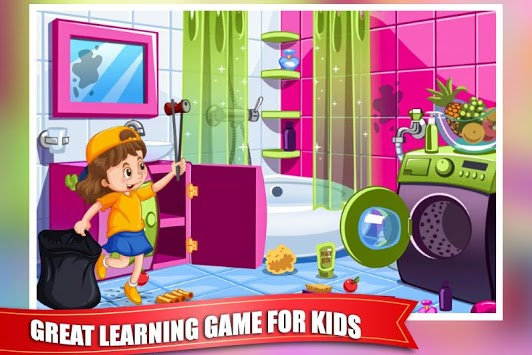 Princess Doll House Cleaning Game for Girls APK screenshot 3