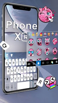 Phone XR Keyboard APK screenshot 2