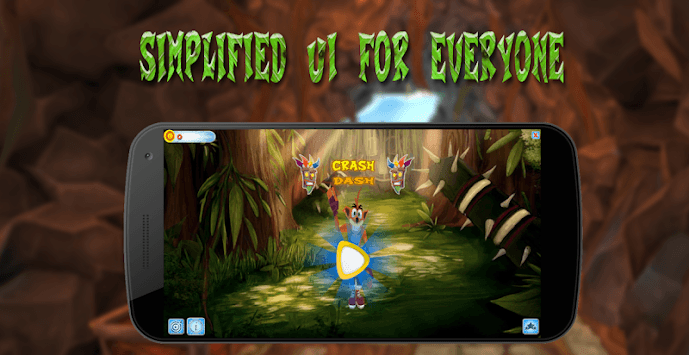 Crash jungle run APK screenshot 1