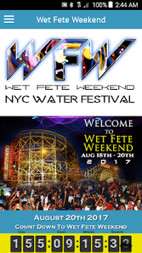 Wet Fete Weekend APK screenshot 3