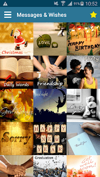 Messages Wishes SMS Collection - Images & Statuses APK screenshot 1