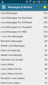 Messages Wishes SMS Collection - Images & Statuses APK screenshot 2