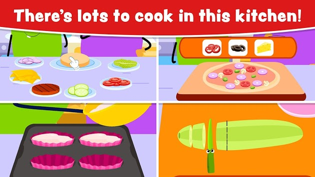 Cooking Games for Kids and Toddlers - Free APK screenshot 2