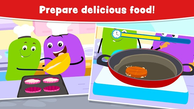 Cooking Games for Kids and Toddlers - Free APK screenshot 3