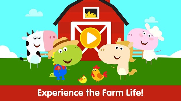 Animal Town - Baby Farm Games for Kids & Toddlers APK screenshot 1