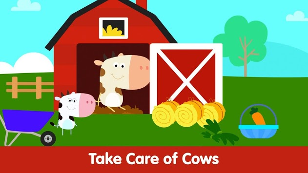 Animal Town - Baby Farm Games for Kids & Toddlers APK screenshot 2