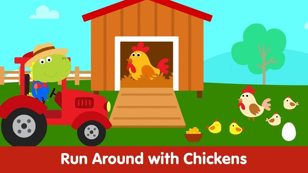 Animal Town - Baby Farm Games for Kids & Toddlers APK screenshot 3