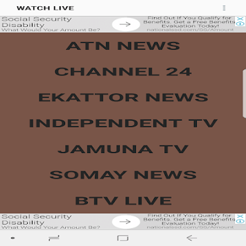 BANGLA NEWS TV LIVE APK : Download v3 0 for Android at AndroidCrew