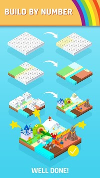 Color Land - Build by Number APK screenshot 1