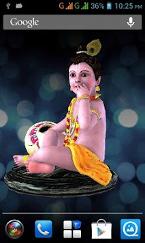 3d Little Krishna Live Wallpaper Apk Download For Android Latest